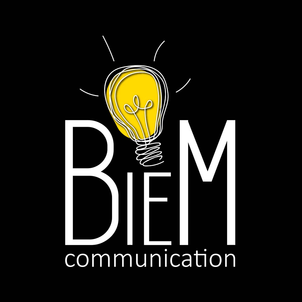 Logo BieM Communication - agenzia di comunicazione